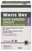 WHITE DRY GROUT 5LB